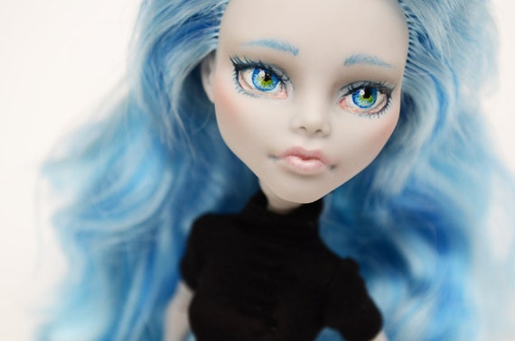 One of a Kind Repainted Monster High Ghoulia Doll