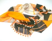 Infinity scarf - summer Fashion scarf,chiffon fabric,soft,gift ideas,for woman,woman scarves