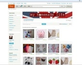 Customized Personalized ETSY Store Banner
