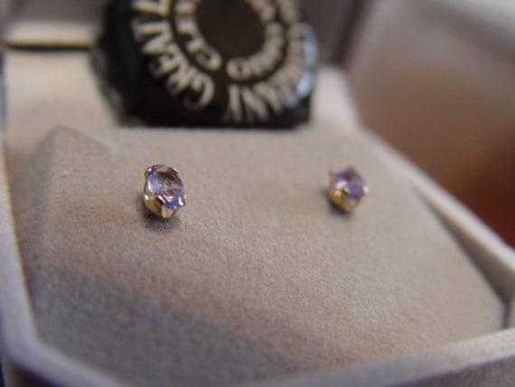 Rare Tanzanite Oval Earrings