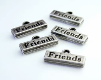 FRIENDS Word Charms - Charm Bracelet Supplies and Findings SUP 004