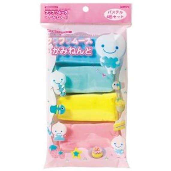 Japanese Kutsuwa Fuwa Fuwa Mousse Paper Clay: Pastel Color