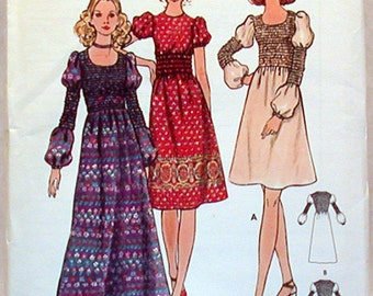 Vintage Butterick Pattern 6355 Sz. 6 NOS Junior Petite and Misses Dress