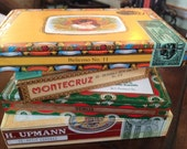 Assorted Cigar Boxes for Craft Projects