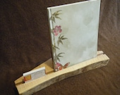 Brochure and Business Card Display Stand - Recipe Holder- Desk Caddy