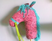 Stick Pony , Hobby Horse , Horse on a stick Made to Order custom order