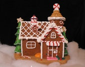 Gingerbread Christmas Candy House