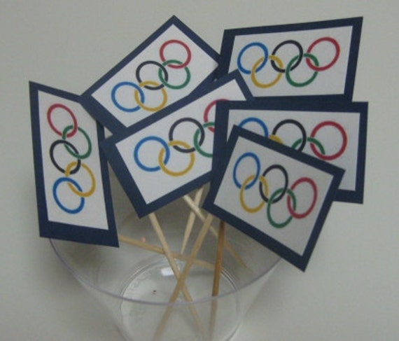 Cupcake Topper - Olympics Collection