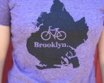 Bike Brooklyn Screen Printed Shirt