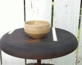 Small Cream Pottery bowl