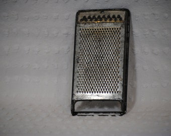 Vintage Tin Cheese Grater