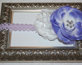 Lavender Skinny Lace Headband