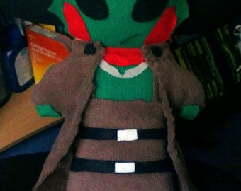 Mass Effect Thane Krios Plushie