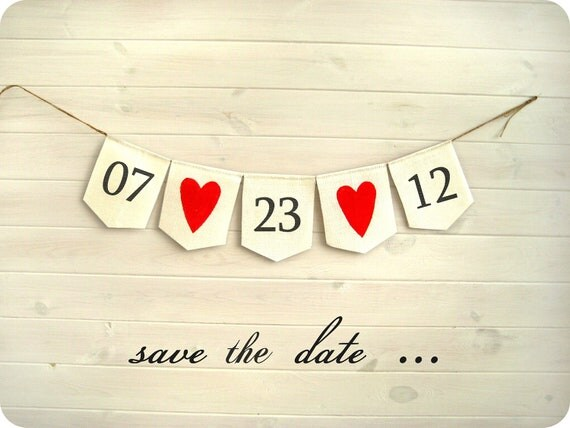 Save the date banner - Engagement banner - Save the Date sign  - engagement photos - Shabby chic -Photography prop, CUSTOM colors