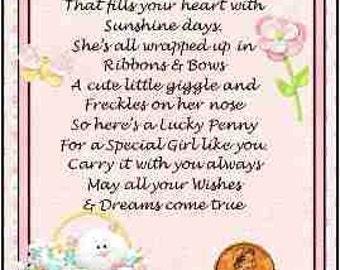 Little Girl Lucky Penny