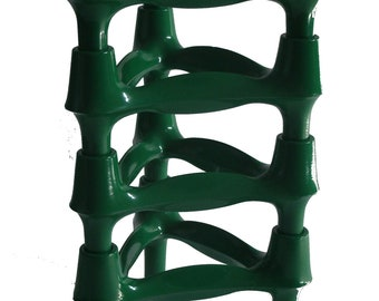 4 BMF candle holders green