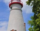 Marblehead Lighthouse, Lake Erie, Ohio, Famous Landmark, 11 x 14  print