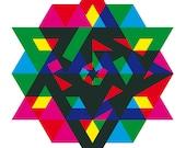 Hexagon Sriyantra