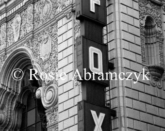 The Fabulous Fox Theater, St. Louis, MO, Photograph, Art Print (By Rosie Abramczyk)