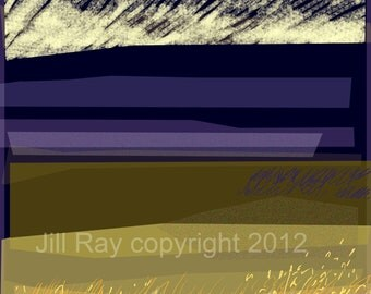 Morning Light .. limited edition mounted giclee print
