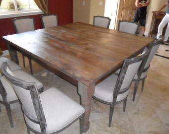 DINING TABLE from recycled wood USA made