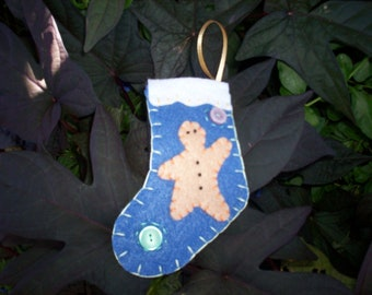 Stocking Ornament - Gingerbread Man