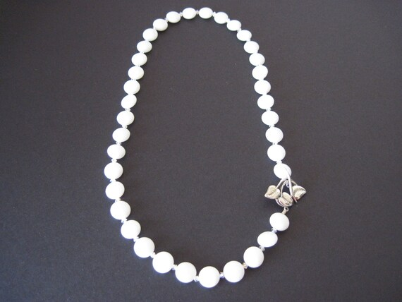 White Jade Pendant Necklace