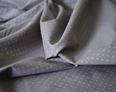 Cotton fabric batiste grey and silvers stars France Duval-Stalla