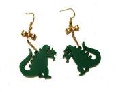 Girly Godzilla Earrings