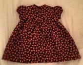 Halloween Candy Corn Dress, size 1 year
