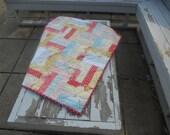 Handmade Baby Girl Quilt: Custom Girl Quilt
