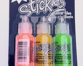 Stickles Glitter Glue 3 pack - Citrus ON SALE