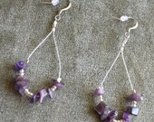Little Purple Ice Rocks (Earrings)