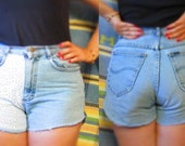 High-Waisted Lace Cutoffs SALE 33% OFF