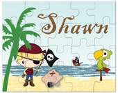 Personalized Pirate Puzzle - Gifts for Boys, Personalized Puzzles for KidsKids Personalized Puzzle