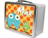 Silly Monsters Theme Lunch & Memory Box- Gifts for Boys