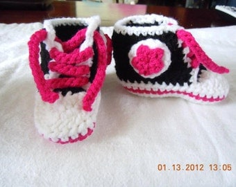 Converse Style Booties