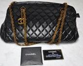 Chanel style mademoiselle handbag
