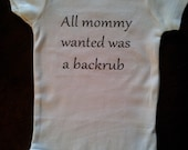 All Mommy Wanted Was A Backrub Creeper