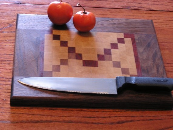 Reddit - End grained and long grained cutting board.
