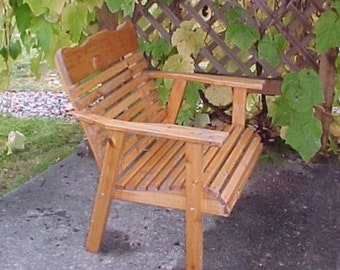 Amish Crafted 2' Cedar Chair