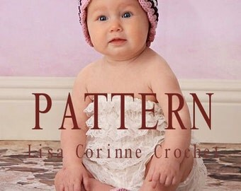 Baby Crochet PATTERNS, Baby Girl Hats, Crochet Baby Booties Pattern, Crochet Baby Hats, Crochet Baby Shoes