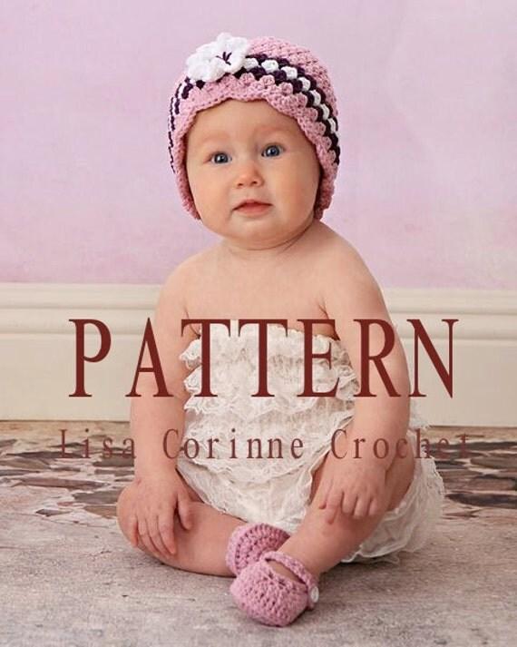 Baby Crochet PATTERNS, Baby Girl Hats, Crochet Baby Booties Pattern, Crochet Baby Hats, Crochet Baby Shoes