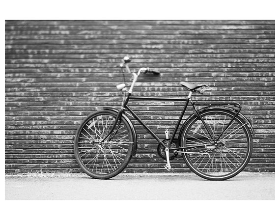 Bicycle Photograph Black And White Photography Copenhagen