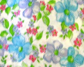 "Cotton Flour Sack Fabric  Square (12"" X 12"") PERFECT CONDITION..(0073)"