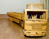 MAN-F90 1987 Articulated Lorry And Trailer   (FREE SHIPPING)