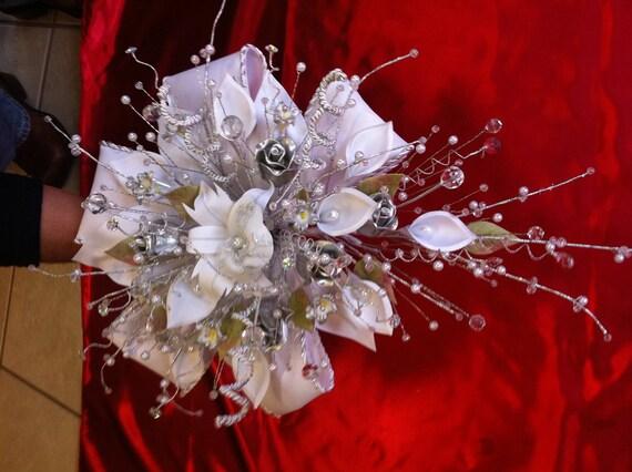 15 Anos Ramos: Wedding Or Quinceanera Bouquet/ramo De Novia O By