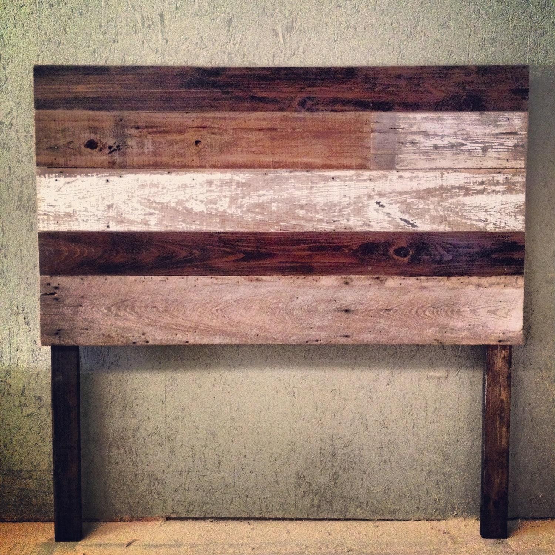 Items Similar To Reclaimed Wood Headboard On Etsy