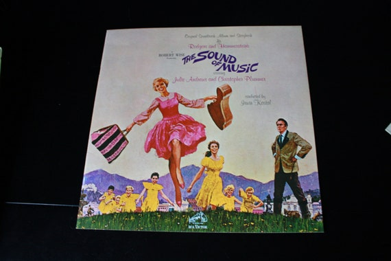 1965 The Sound of music soundtrack vintage vinyl record
