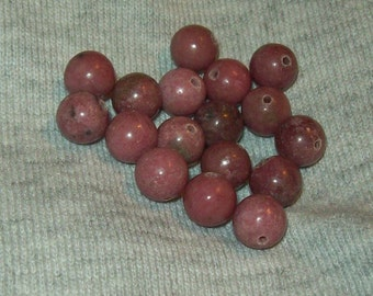 Rhodonite Beads 8mm